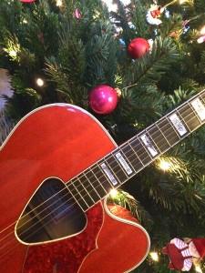 gitaar kerst clown snorre de oranje man