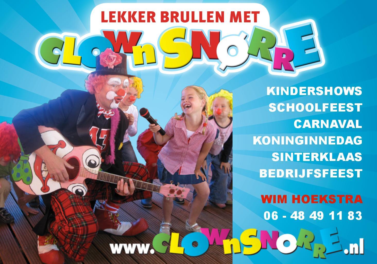Kindercarnaval_Clown_Snorre_Kindershow_Voorstelling_01