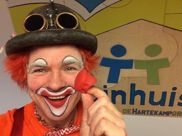 clown snorre kinderdagcentrum het duinhuis haarlem 02
