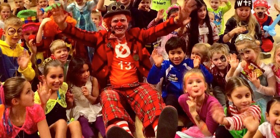 kindercarnaval clown snorre 01